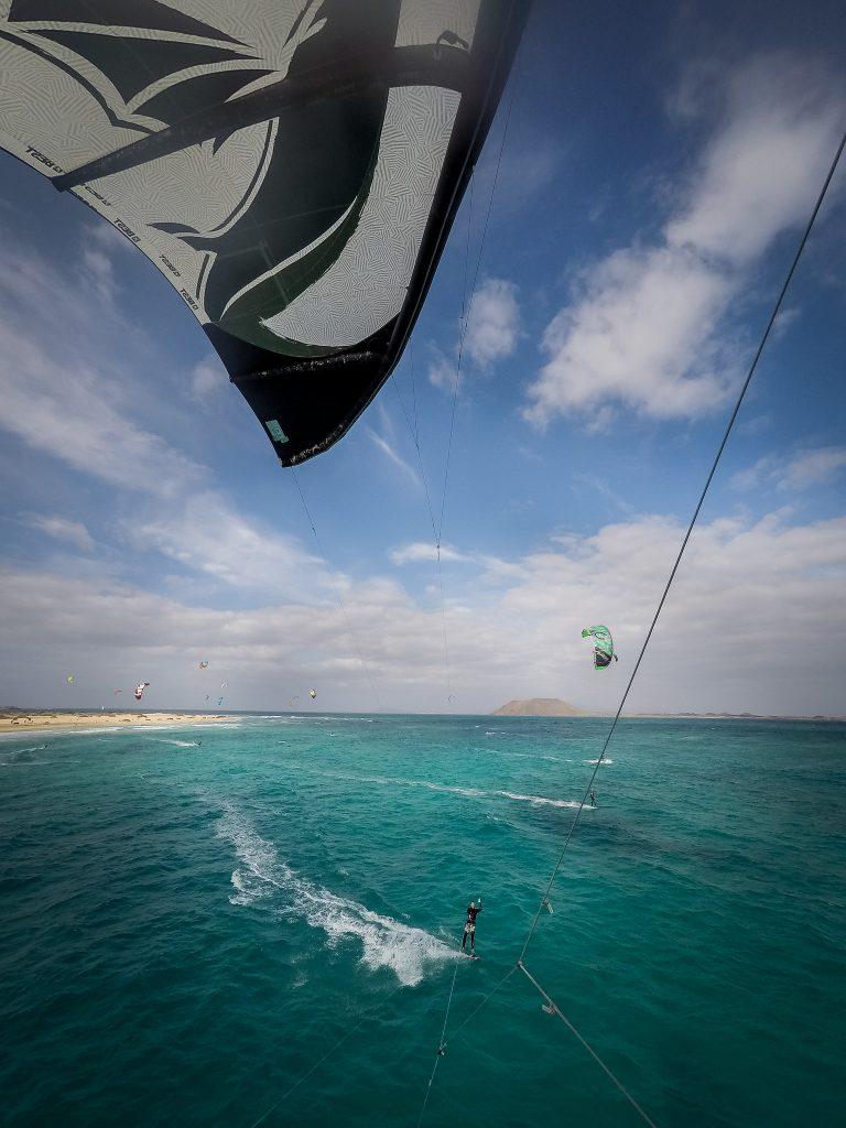 Vacanță la kitesurfing în Fuerteventura