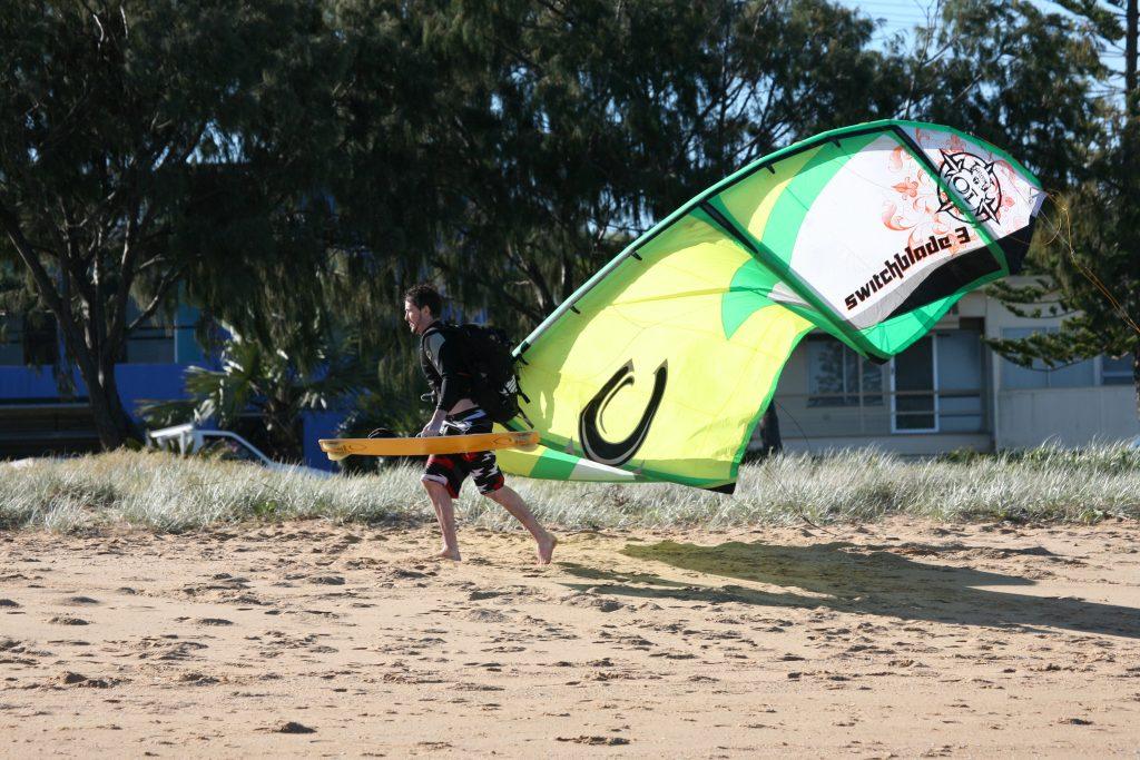 Zemeie de kitesurfing