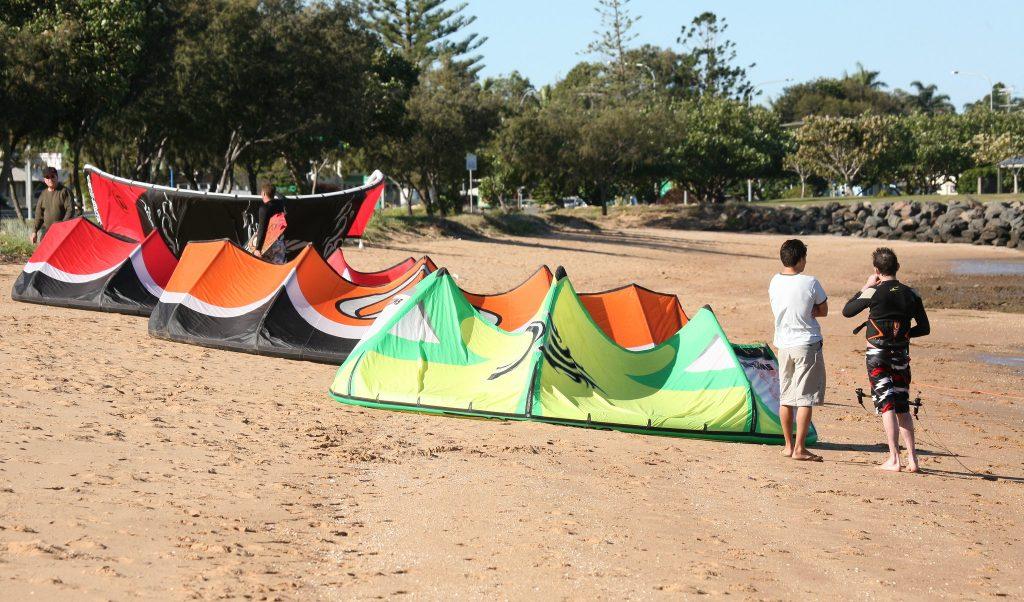 Zmeu kitesurfing