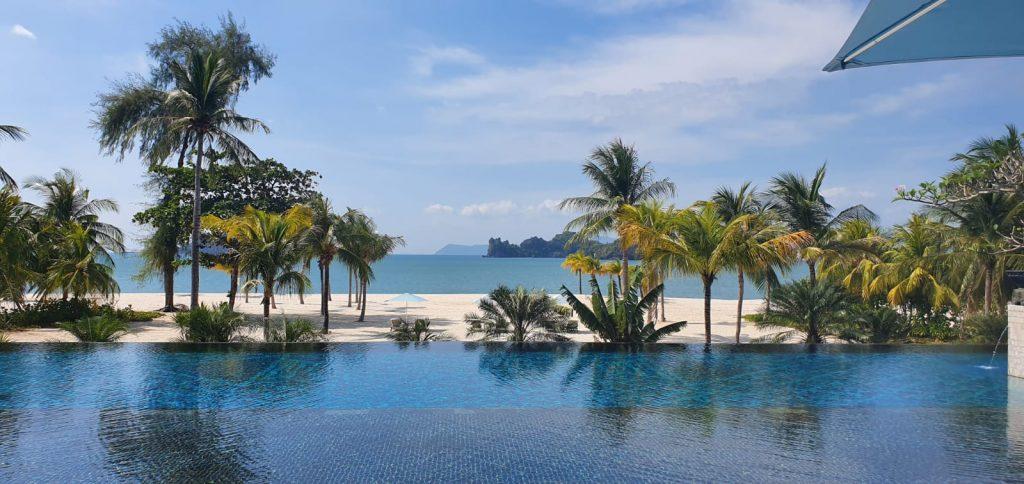 Piscina Four Seasons Hotel, Langkawi, Malaezia