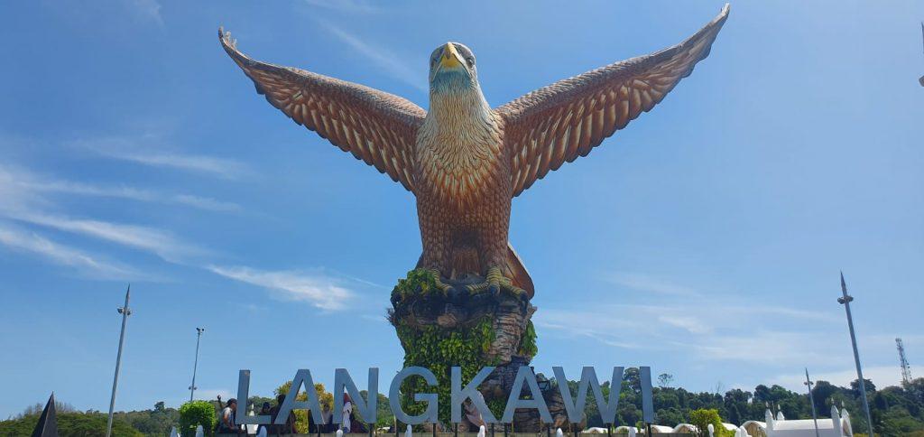 Eagle Square, Piaţa vulturului, Langkawi, Malaezia
