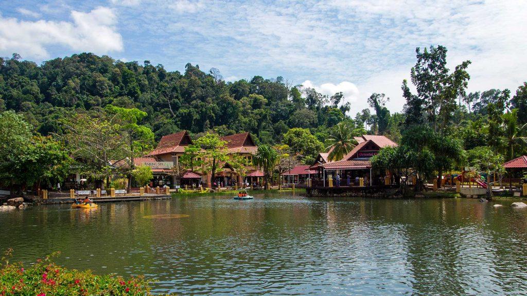 Satul oriental din Langkawi, Malaezia