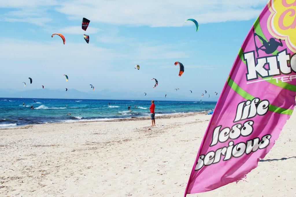 vacanță la kitesurfing în Lefkada