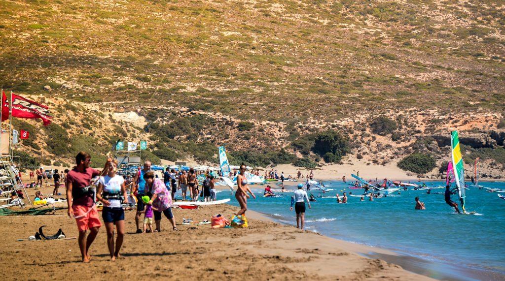 vacanță la kite surf în Rodos
