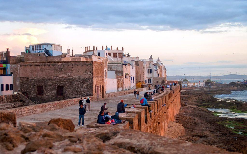kite surf în Essaouira, Maroc