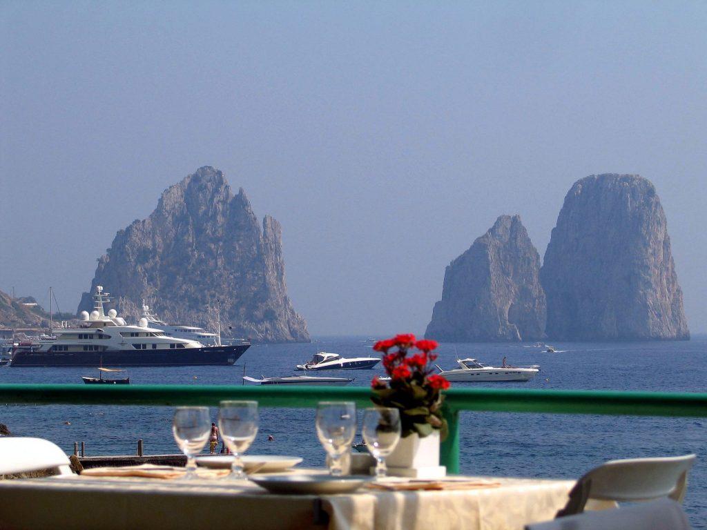 vacanță în Capri, Italia