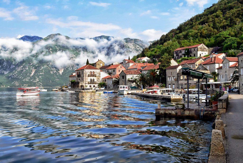 vacanță în Kotor Bay, Muntenegru