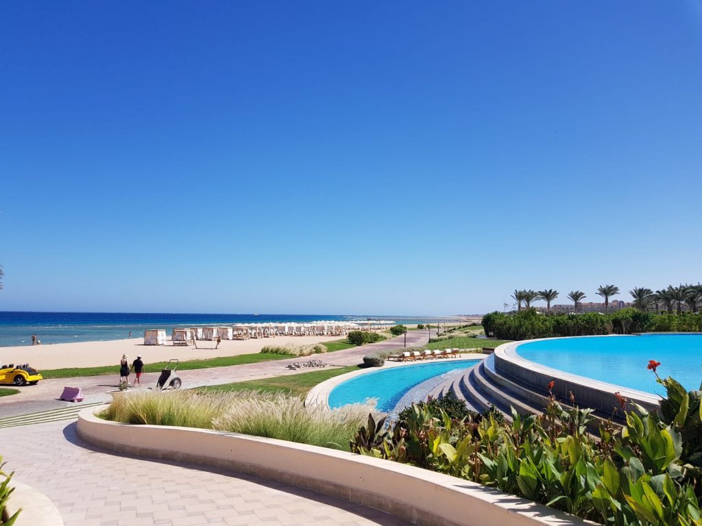 Piscine infinity, Baron Palace Sahl Hasheesh, Hurghada