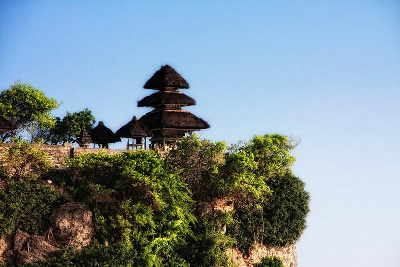 Templul Uluwatu Bali foto @flickr.com