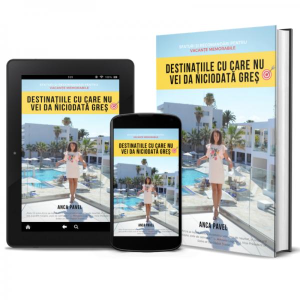 E-book recomandări de vacanțe