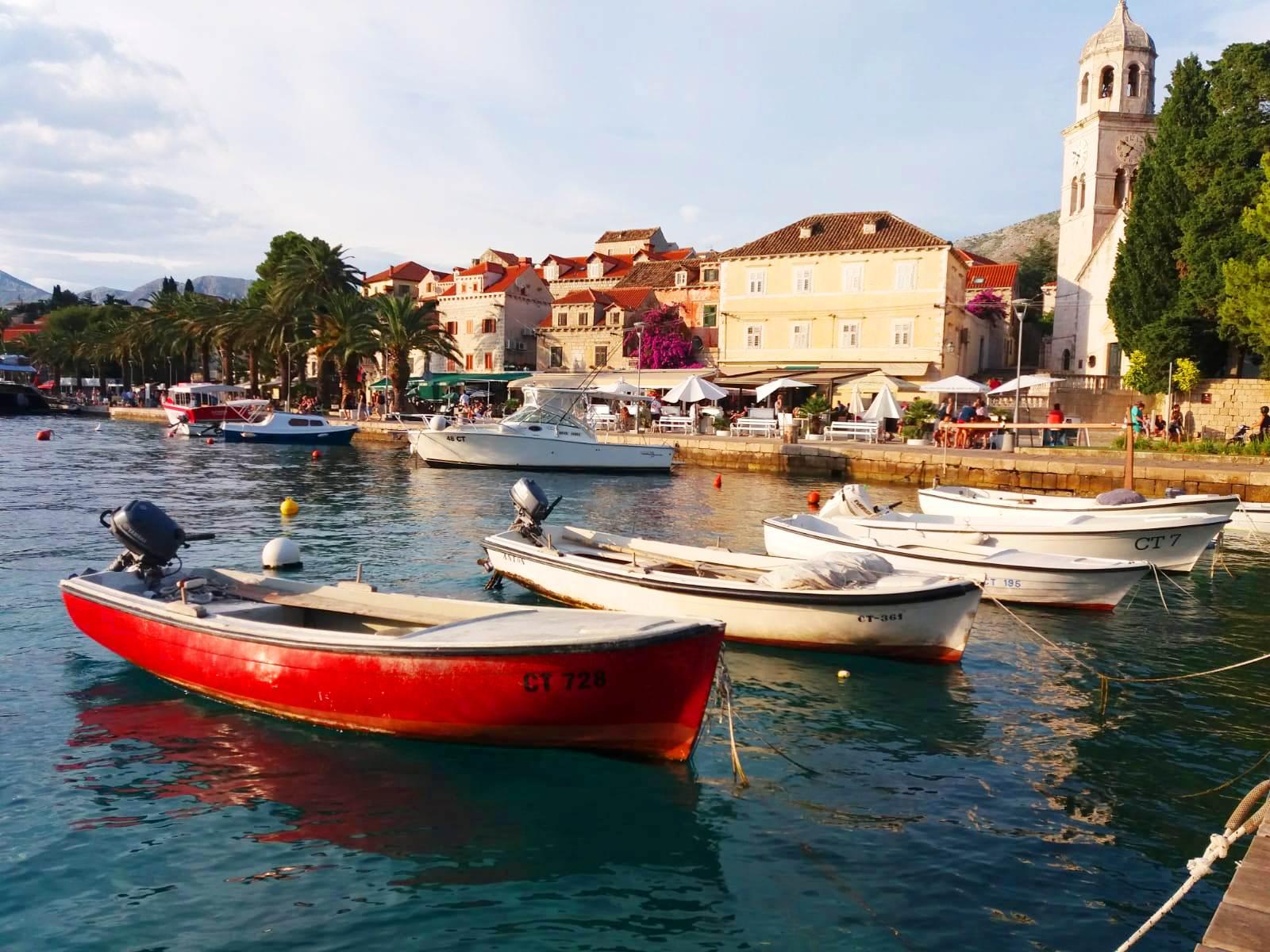 Vacanţă în Croaţia, staţiunea Cavtat, foto @ANCAPAVEL.RO