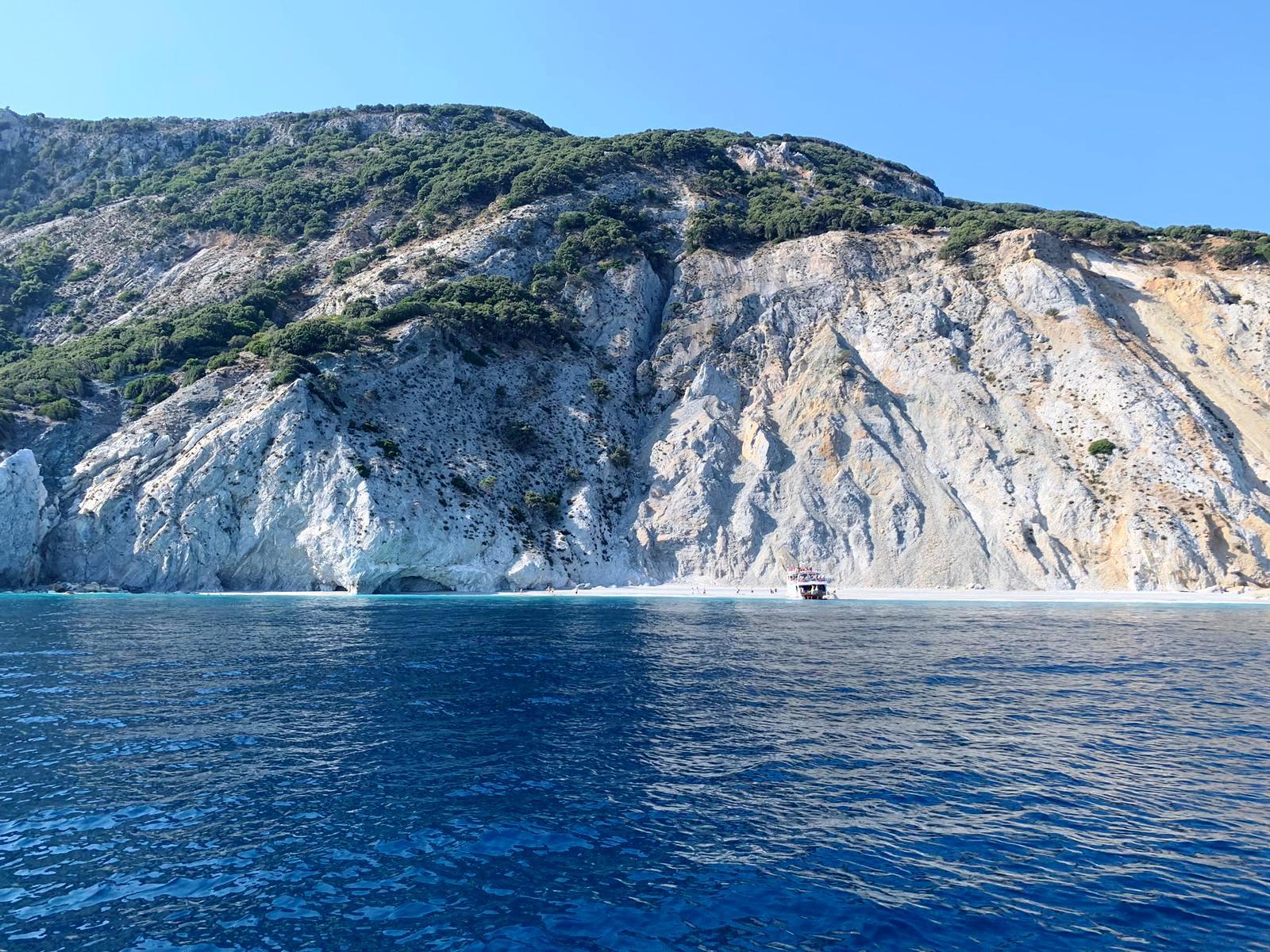 Imagini de la turişti: Excursie la plaja sălbatică Lalaria, Skiathos, foto@ANCAPAVEL.RO