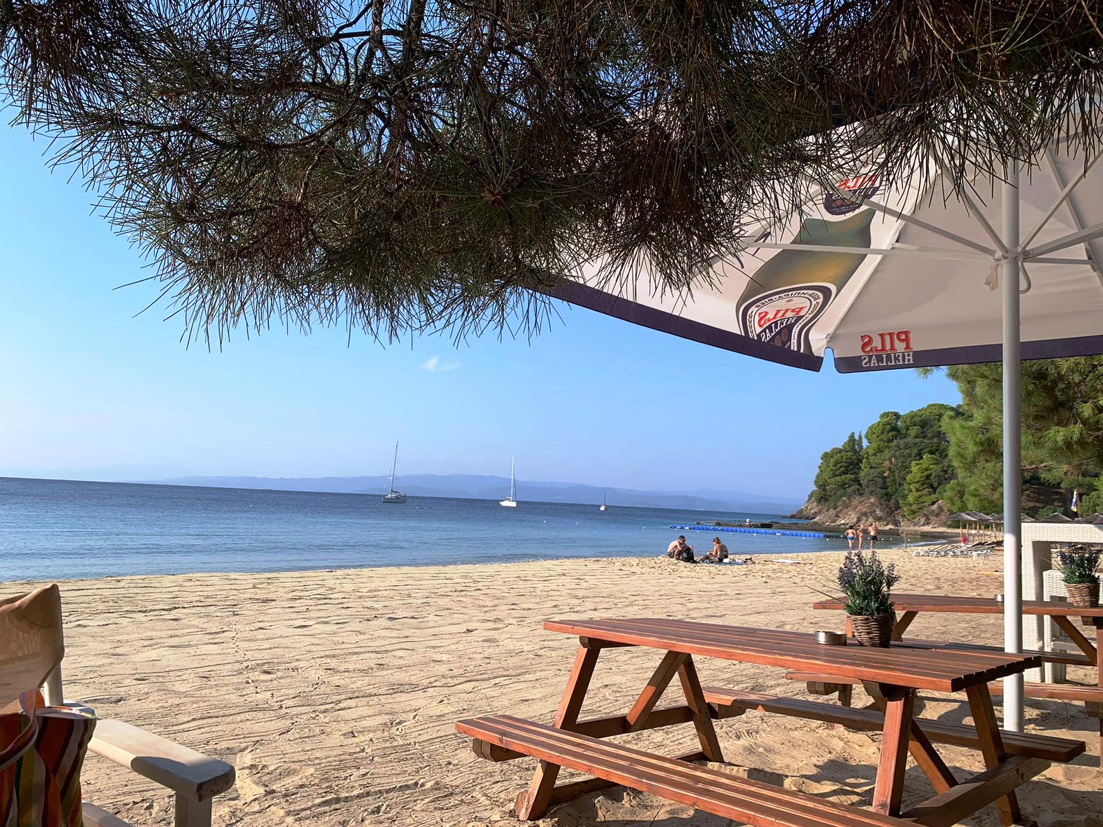 Vacanţa turiştilor în Skiathos, foto @ANCAPAVEL.RO