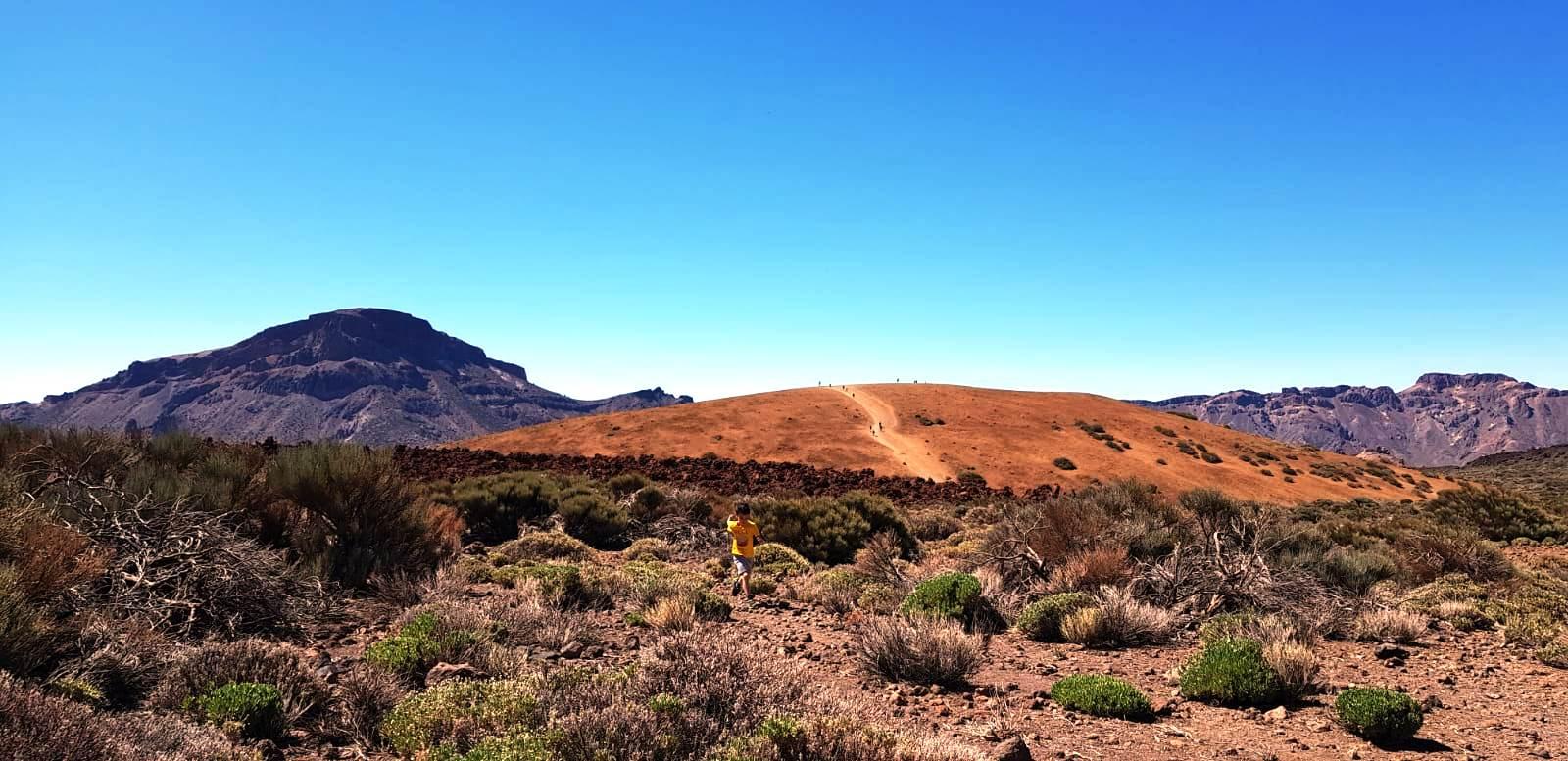 Imagini de la turişti: Vulcanul Teide, Tenerife, foto @ANCAPAVEL.RO