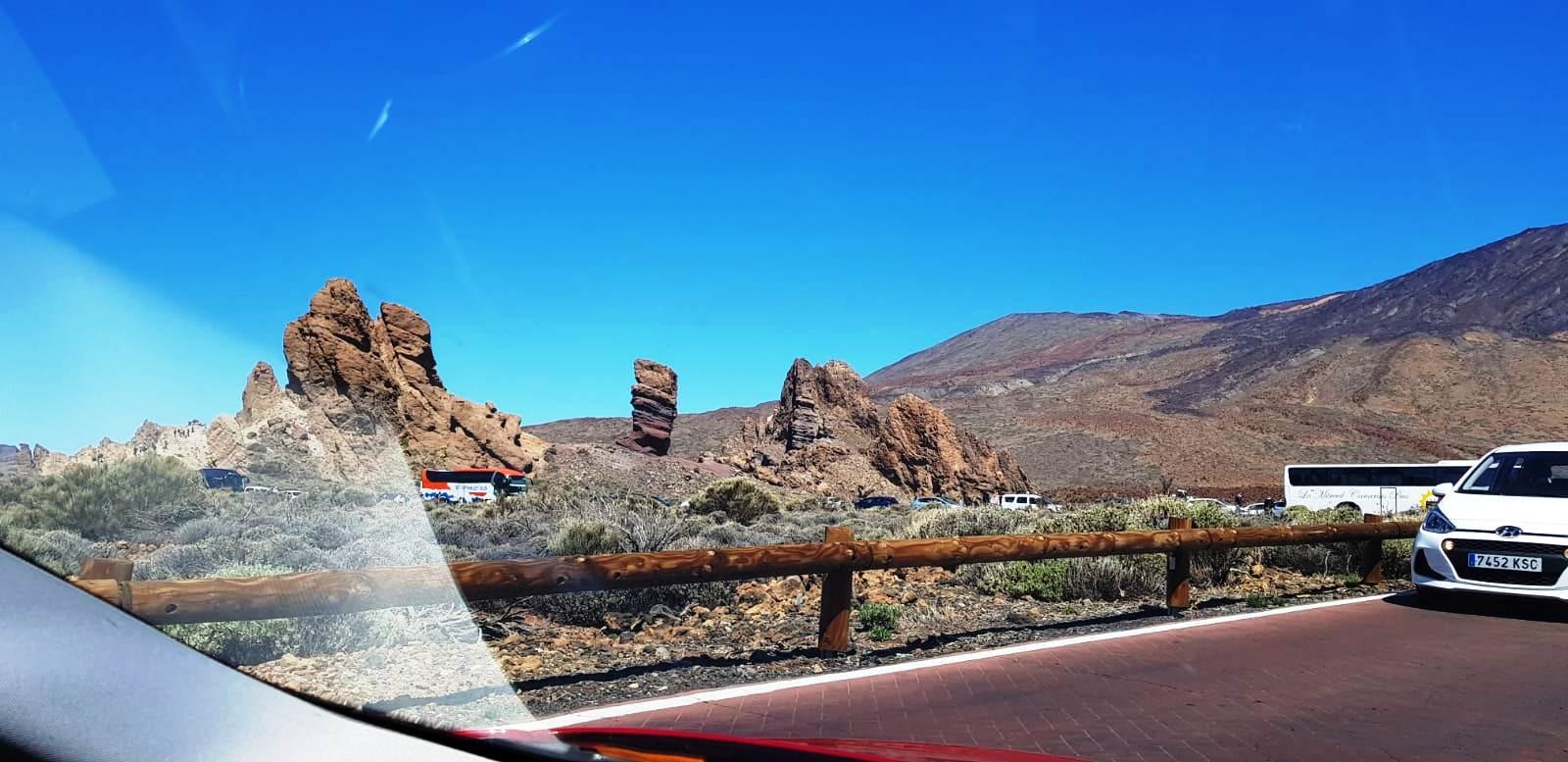 Imagini de la turişti: Parcul Naţional Teide, Tenerife, foto @ANCAPAVEL.RO