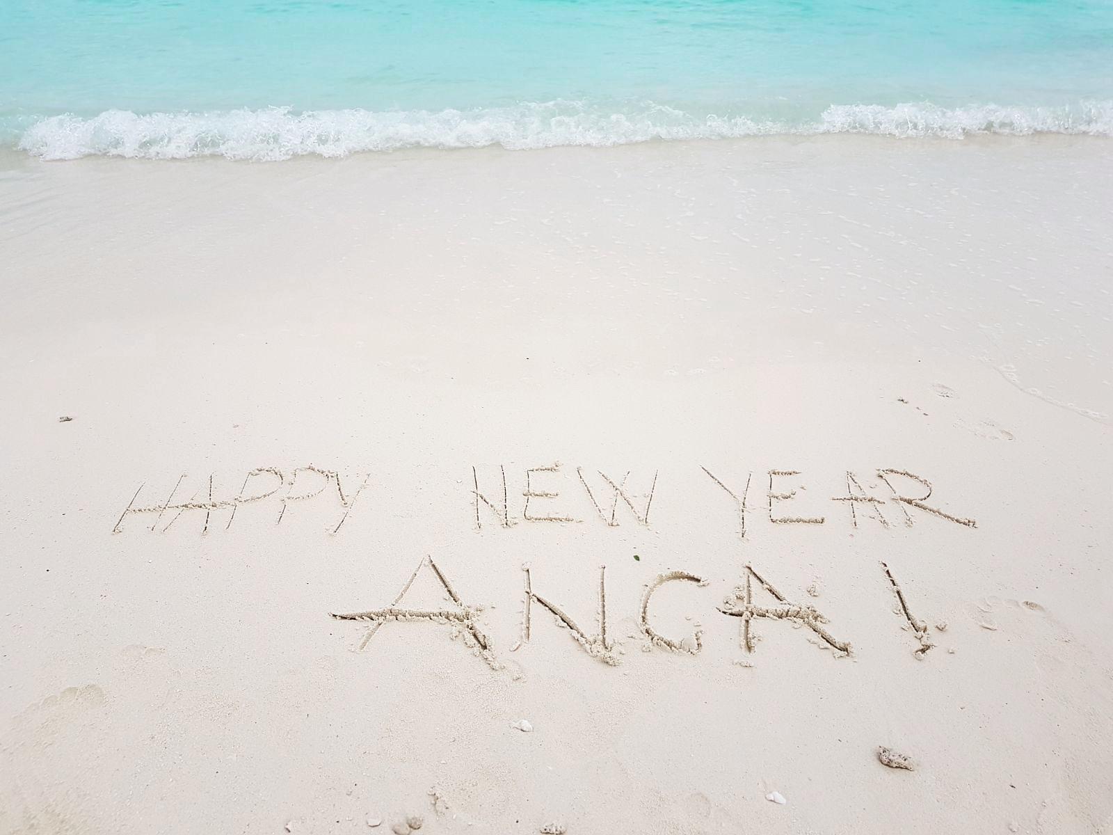 Revelion în Maldive, foto @ANCAPAVEL.RO