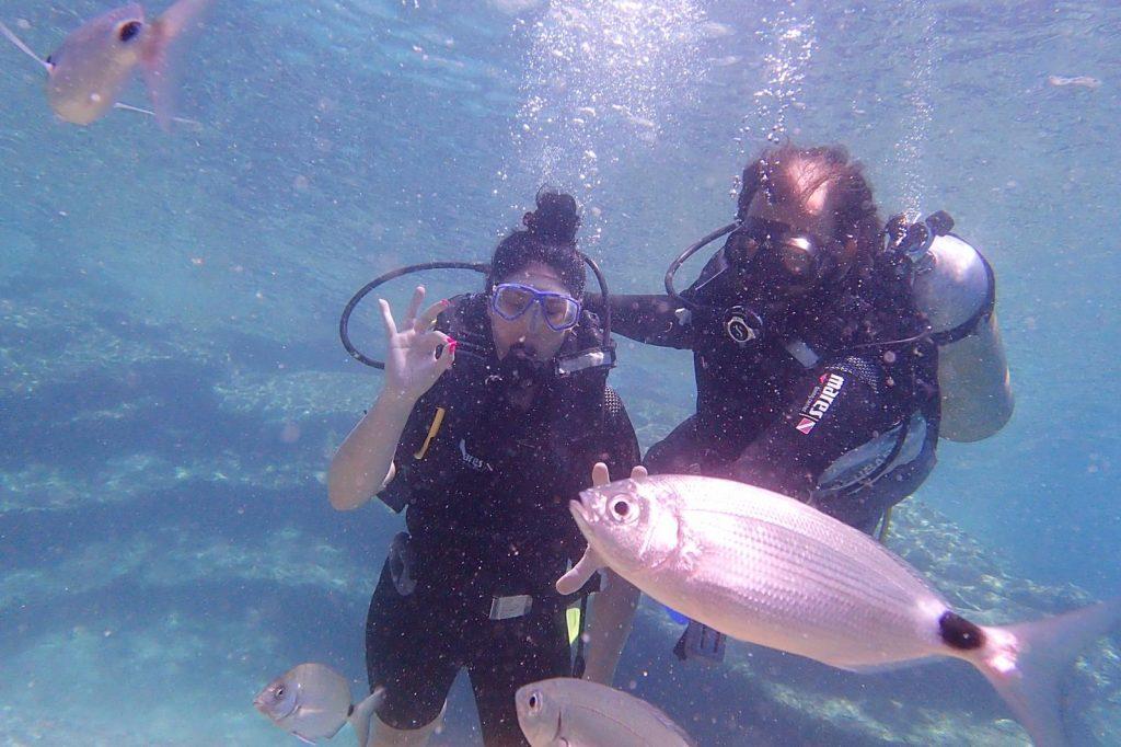 Vacanţele turiştilor mei: Scuba diving în Bodrum