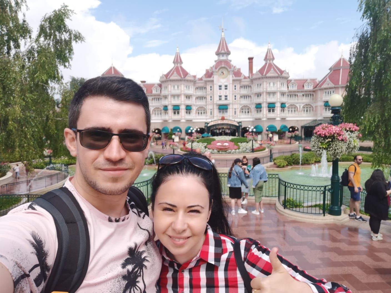 Luna de miere la Disneyland Paris #VacanteleTuristilorMei